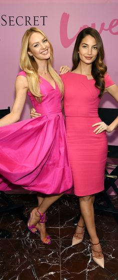 Valentine's Day advice from Victoria's Secret Angels Candice Swanepoel and Lily Aldridge