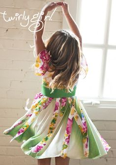 Celebrate a beautiful wedding in a this flower dress for kids.
