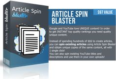 Article Spin Blaster - INSTANT Top Quality Rankings You Need #articlespinblaster #articlewritersoftware #bestarticlegeneratorsoftware #bestarticlewritersoftware #bestarticlewritingsoftware #freearticlewritingsoftwarecontentgenerator #freeblogcontentgenerator #thebestspinnertutorial Writing Software, Seo Software, Make Money Online, How To Make Money, Article Writing, News Articles, Spinning, Writer, Youtube