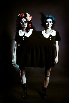 costume idea @Katherine Latshaw, but let's keep both legs and scrap the whole conjoined look.