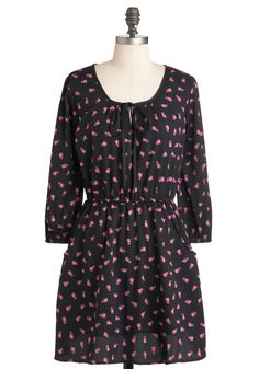 The Fuchsia is Meow Dress, #ModCloth
