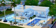 Casa Essência do Jardim Reformada - The Sims 4 ( no cc ) Sims 4 Mods, Sims 3, Lotes The Sims 4, Sims 4 House Building, Sims House Plans, The Sims 4 Houses, Sims 4 House Design, Casas The Sims 4, Sims Games
