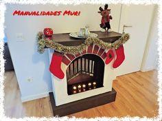 Chimenea Decorativa de Cartón para Navidad. Manualidades Muri Diy. - YouTube