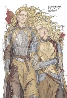Angrod and Aegnor