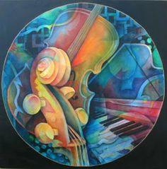 Musical Mandala by Susanne Clark