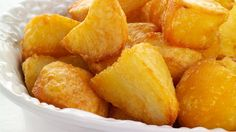 Our oven roasted potatoes are delicious. Soft on the inside and crispy on the outside. Roast potatoes along side something else in your oven. Roasted Potato Recipes, Oven Roasted Potatoes, Cereal Recipes, Snack Recipes, Roast Recipes, Snacks, Perfect Roast Potatoes, Good Food, Yummy Food