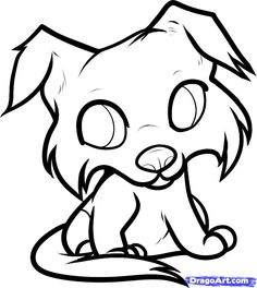 How to Draw a Collie Puppy, Collie Puppy, Step by Step, Pets, Animals, FREE Online Drawing Tutorial, Added by Dawn, October 2, 2011, 9:01:29...