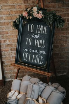 This Winter Wedding is the Definition of Cozy - - A January wedding with freshly fallen snow set in Hartland, Wisconsin. Fresh greens brought the outdoors in, while guests enjoyed a roaring fireplace and candlelit meal. Winter Wedding Favors, Winter Wedding Decorations, Fall Wedding, Rustic Wedding, Our Wedding, Dream Wedding, Woodland Wedding, Wedding Table, Elegant Winter Wedding