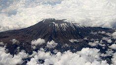 Kibo-vuoren huippu Kilimanjarolla