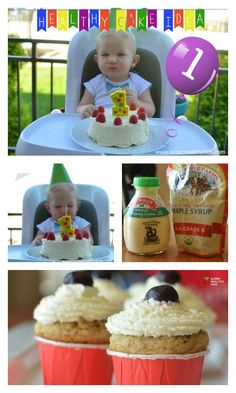 Babies First Birthday Cake - This perfect, natural sweetener is plenty sweet for this birthday cake! http://www.superhealthykids.com/babies-first-birthday-cake/