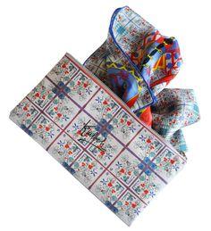 #Finaest #Kinloch #Packaging Silk #CachemireScarf #MadeinItaly