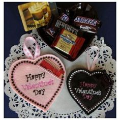 In The Hoop :: Candy & Treat Holders :: Valentine Heart Candy/GiftCard Holder - Embroidery Garden In the Hoop Machine Embroidery Designs