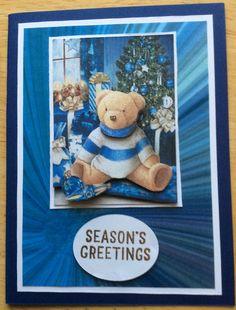 Christmas Cards, Teddy Bear, Seasons, Toys, Animals, Christmas Greetings Cards, Animales, Animaux, Xmas Cards