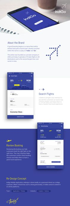 Mobile User Experience Re-Imagined for India's fastest growing Domestic Airlines. Form Design, App Design, Domestic Airlines, Mobile App Ui, Branding Ideas, Ui Kit, Mobile Design, User Experience, Web Design Inspiration