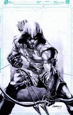 Green Arrow by Jimbo02Salgado.deviantart.com on @deviantART