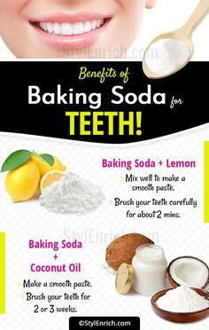 baking soda and lemon fruit juice tooth whitening reports - White teeth - Baking Soda Coconut Oil, Baking Soda Teeth, Baking Soda And Lemon, Baking Soda Shampoo, Baking Soda Face Scrub, Teeth Whitening Remedies, Natural Teeth Whitening, Whitening Kit, Homemade Teeth Whitening