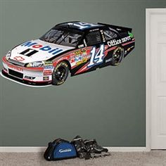 Fathead Tony Stewart  14 Mobil 1 Car Wall Decal 17be3e5ae411