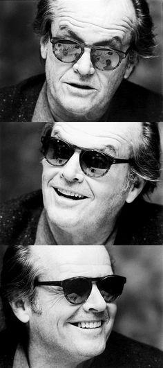 Jack Nicholson Sunglasses January 2017