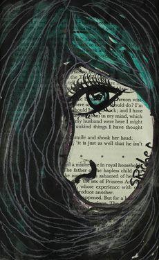 """Saatchi Online Artist: Sara Riches; Ink 2013 Drawing """"In My Mind"""""""