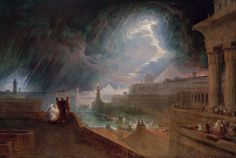 The Seventh Plague John Martin, 1823