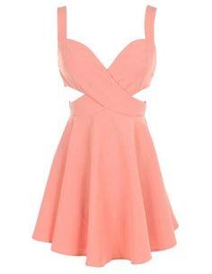 Cutout Sweetheart Dress