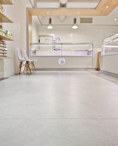 Cafe Interior Design, Cafe Design, Carnicerias Ideas, Cool Retail, Store Counter, Counter Design, Coffee Shop Design, Bakery Design, Creative Design