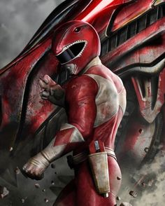 The strength of the Red Ranger...
