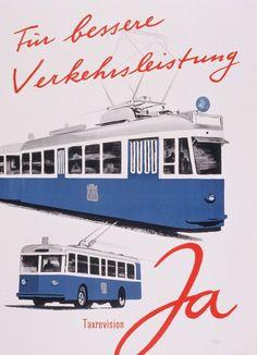 Taxrevision für bessere Verkehrsleistung – 1952