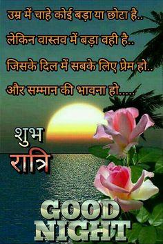 Good Night Shayari In Hindi Hindi Shayari Good Night Love Images
