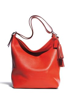 Style.com Accessories Index : fall 2012 : Coach | red tote