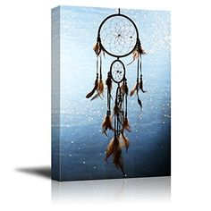 Canvas Prints Wall Art - A Beautiful Dream Catcher | Mode... https://www.amazon.com/dp/B00UHI0TVU/ref=cm_sw_r_pi_dp_x_NIA-xb197BNVG