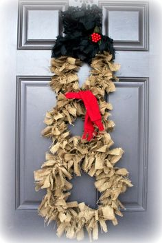 Burlap Christmas IDEAS | Christmas Ideas / Happily Mother After: 12 Crafty Days of Christmas ...