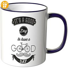 "Wandkings® Tasse, Spruch ""IT´S A GOOD DAY TO HAVE A GOOD DAY"" - LILA - Tassen mit Spruch | Lustige Kaffeebecher (*Partner-Link)"