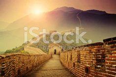 Grande Muraglia cinese  - fotografia stock royalty-free