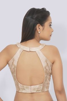 Buy Pastel Mauve Chandelier Net Padded Blouse by Colorauction - Online shopping for Blouses in India Neck Designs For Suits, Blouse Back Neck Designs, Neckline Designs, Sari Blouse Designs, Designer Blouse Patterns, Designer Dresses, Latest Saree Blouse, Stylish Blouse Design, Latest Fashion Design