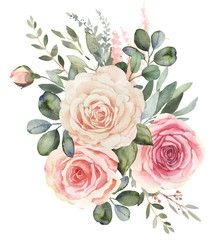 Watercolor Flowers Discover Blush Flowers stock photos and royalty-free images vectors and illustrations Blush flowers stock photos royalty-free images vectors video Frame Floral, Flower Frame, Flower Art, Floral Illustrations, Botanical Illustration, Watercolor Flowers, Watercolor Paintings, Decoration Entree, Floral Bouquets