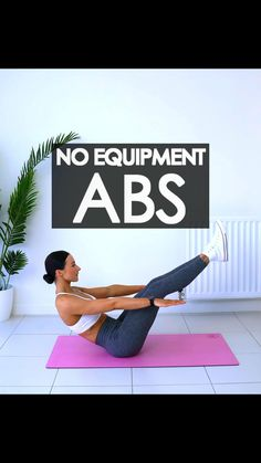 Fitness Workouts, Gym Workout Videos, Gym Workout For Beginners, Abs Workout Routines, Fitness Workout For Women, Exercise Workouts, No Equipment Ab Workout, Full Body Gym Workout, Lower Belly Workout