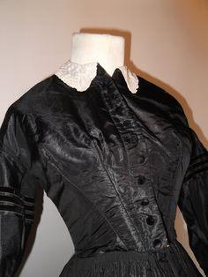 American Civil War Era Mourning Dress