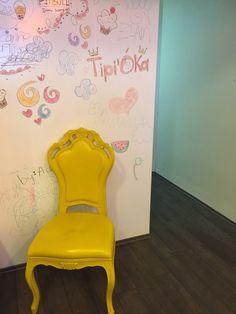 761-P Yellow Plastic Chair