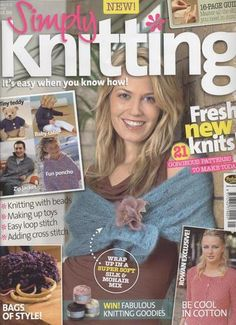 Ravelry: Simply Knitting 2, May 2005