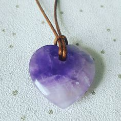 Our very cute Loveheart Amethyst necklace. This is faceted texture and truly beautiful.    I can lovingly infuse with Reiki healing to give you happy healing energy x    #amethystnecklace #amethyst #amethystcrystal   www.facebook.com/jillyscrystals