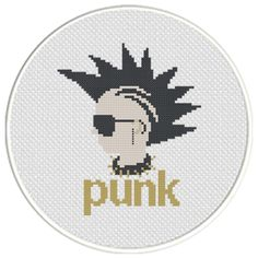 FREE for Feb 4th 2016 Only - Punk Cross Stitch Pattern