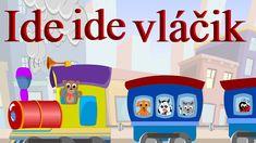 Ide ide vláčik + 12 pesničiek   Zbierka   18 minútový mix   Slovenské de... Preschool, Youtube, Character, Kid Garden, Kindergarten, Youtubers, Lettering, Preschools, Kindergarten Center Management