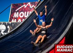 Rugged Maniac 5K Obstacle Race | Slide