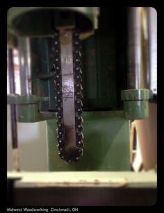 Power mortiser blade