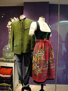 Folk costumes from Bolzano, Italy