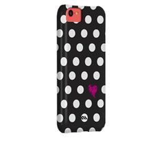 I+want+the+#CaseMate+Studio+Print+Cases+for+iPhone+5C+in+Polka+Love+from+Case-Mate.com
