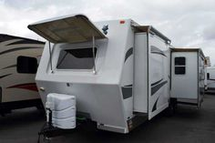 2011 Used Northwood Mfg ARCTIC FOX 30U Travel Trailer in California CA.Recreational Vehicle, rv, 2011 Northwood Arctic Fox 30U! Come see the quality in this great rear lounge travel trailer from Arctic Fox! 2 large slide outs, four seasons insulated, aluminum super structure, pass through storage, power awning, 2 rear chairs with huge window, sofa, free standing dinette, large kitchen with tons of counter space, flat screen TV, huge bathroom with large glass shower and tons of storage…