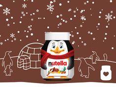 Zo leuk! De enige echte kerstpot van Nutella.