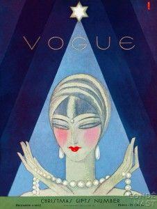Vintage Vogue cover ...